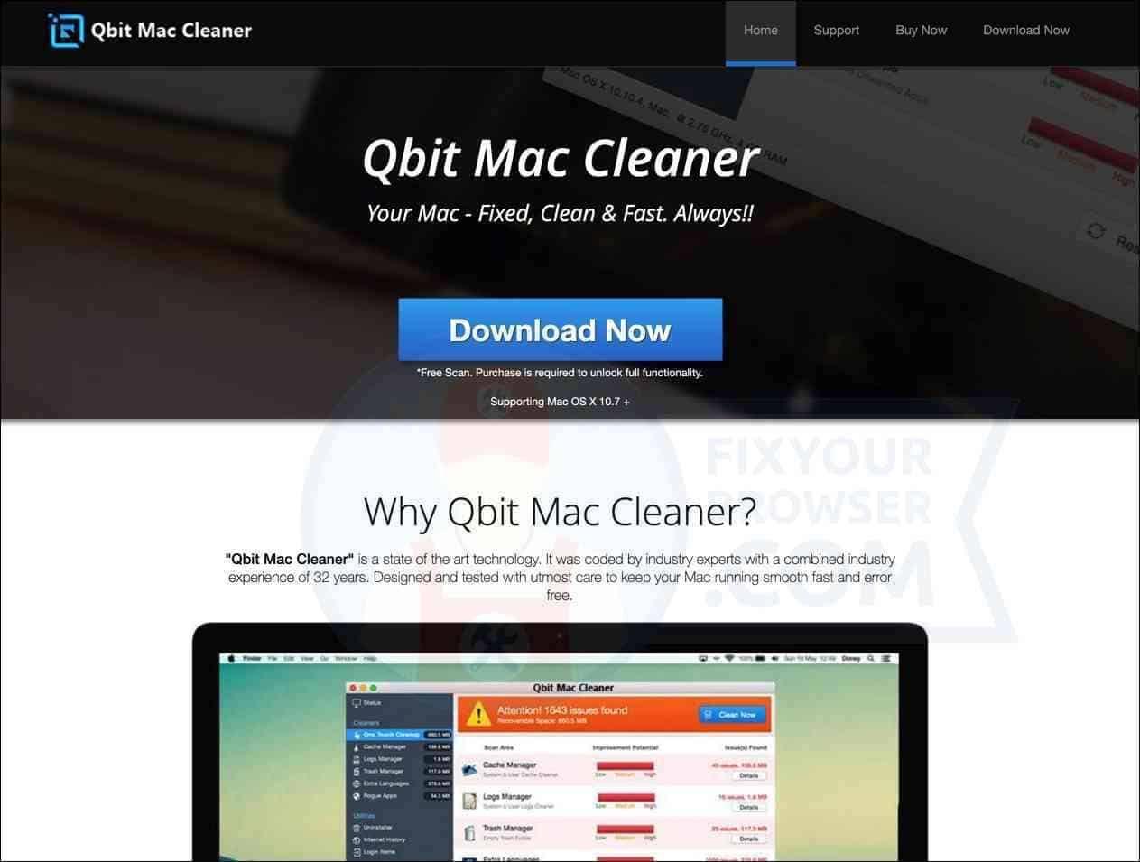 How to Uninstall Qbit Mac Cleaner? Mac Sierra, High