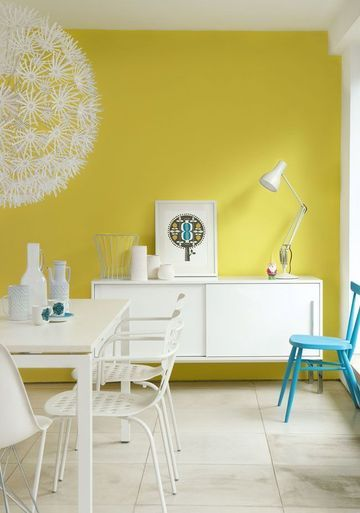 Great idea for dining room paint color--choose a color that may not ...