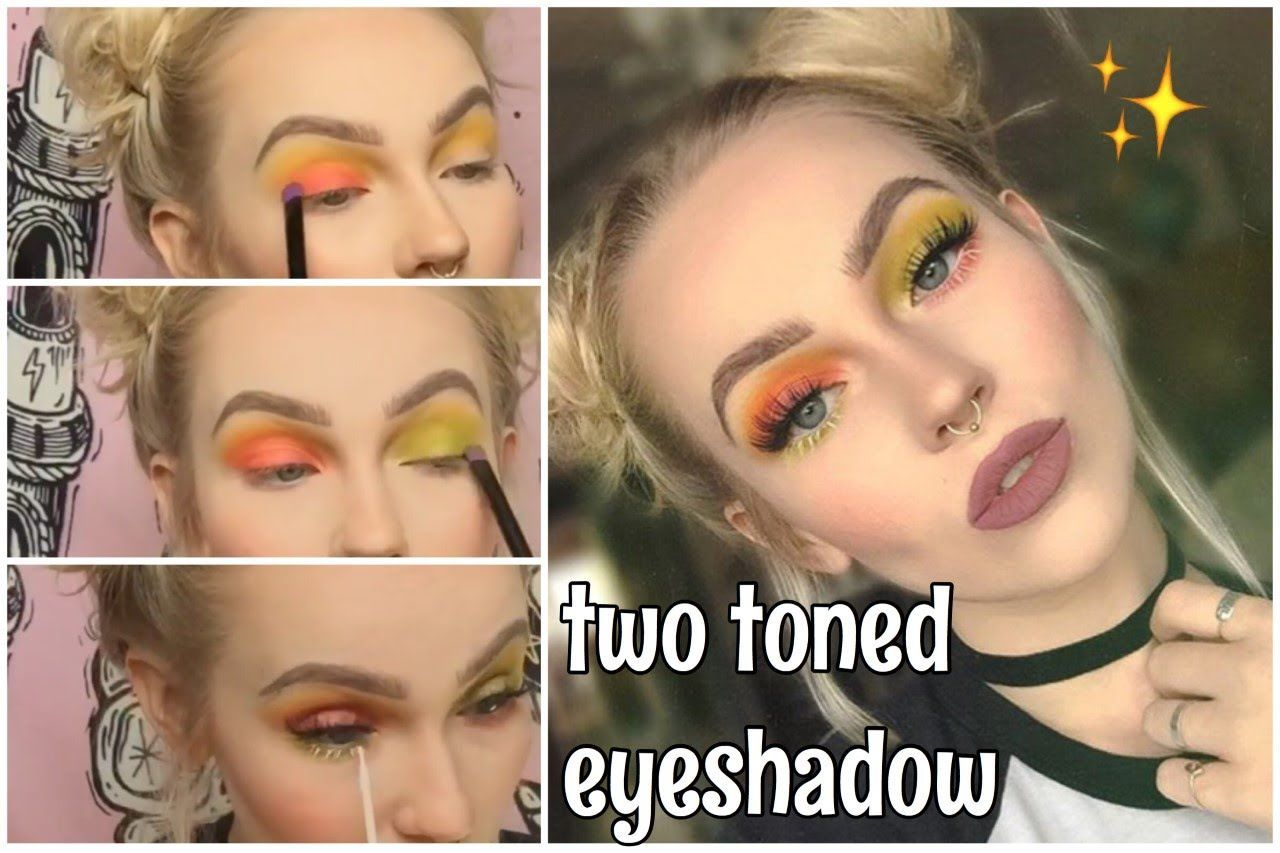 How to apply eyeshadows for beginners? Step by step tutorial.