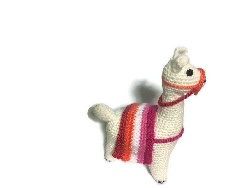 Pan Pride Llama Amigurumi