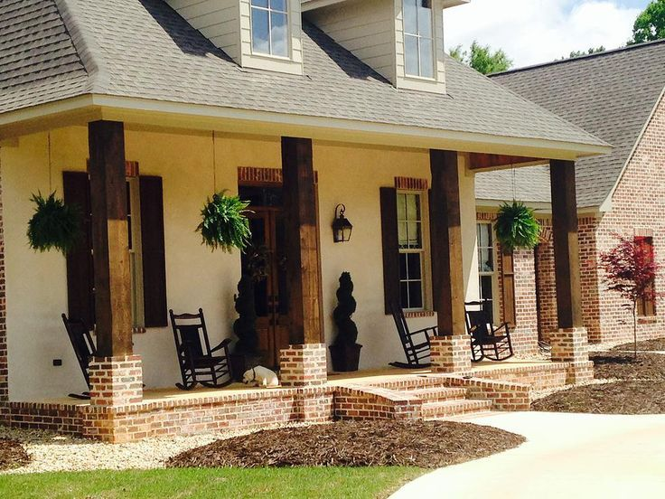 creole house plans with porches. LOVE this Acadian style home  Louisiana Living Spaces Pinterest House Porch and Front porches