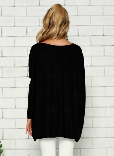 1707686bd7a women-s-solid-loose-fit-batwing-sleeve-t-shirt-tunic-dress