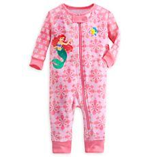 dbb234ccce Disney Ariel Footless Stretchie Sleeper for Baby