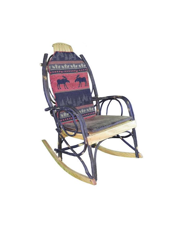 Amish Bentwood Rocker Cushion Set By Rusticstyles