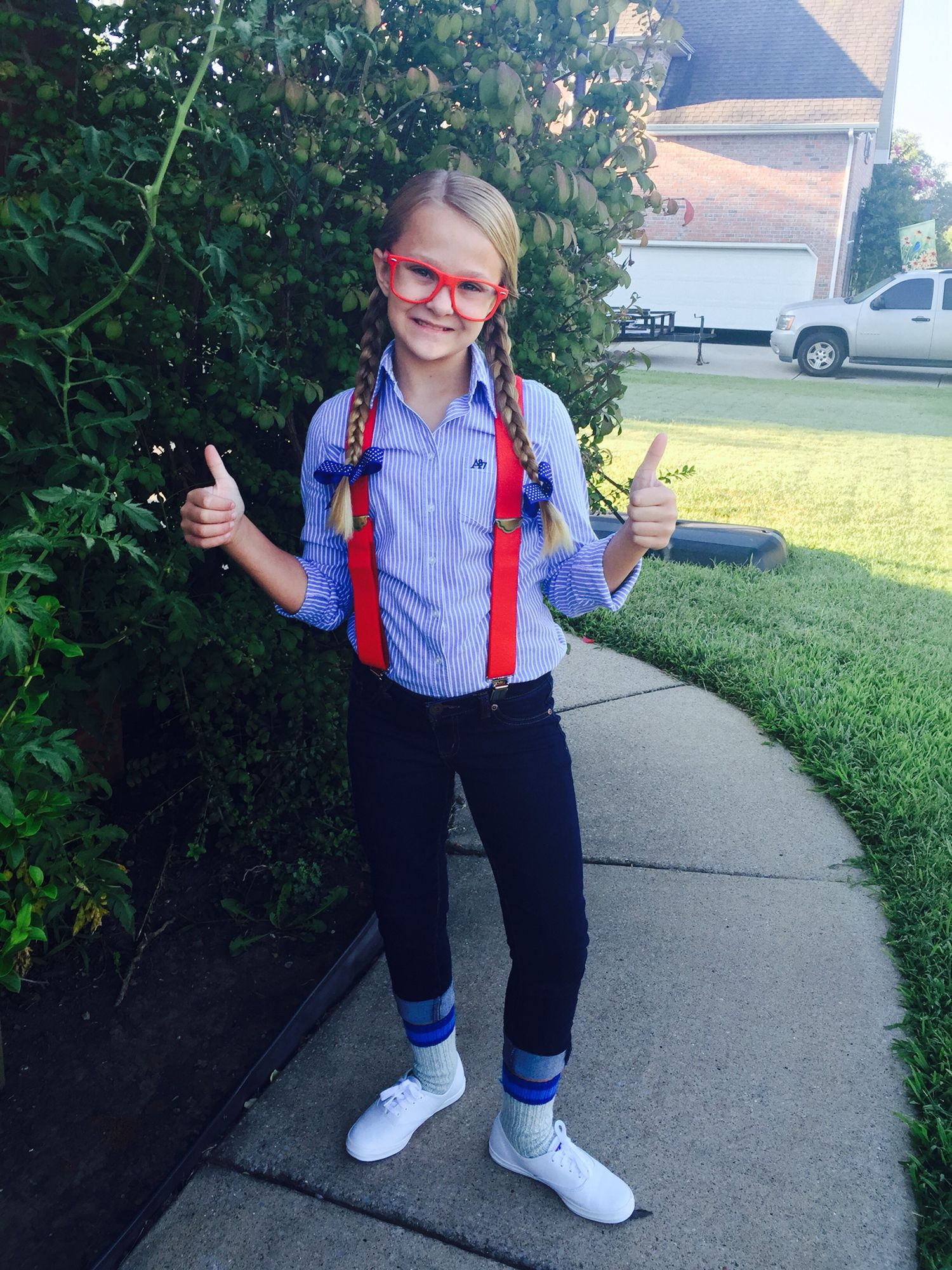 Nerd day at school  sc 1 st  Pinterest : girl nerd costume pictures  - Germanpascual.Com
