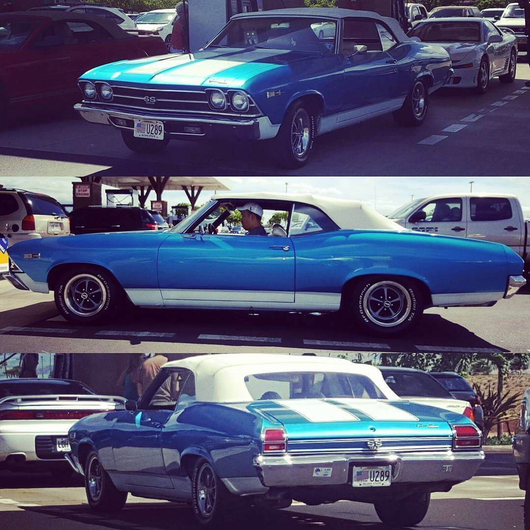 Nice Chevelle SS with 398ci big block V8! #protecautocare ...