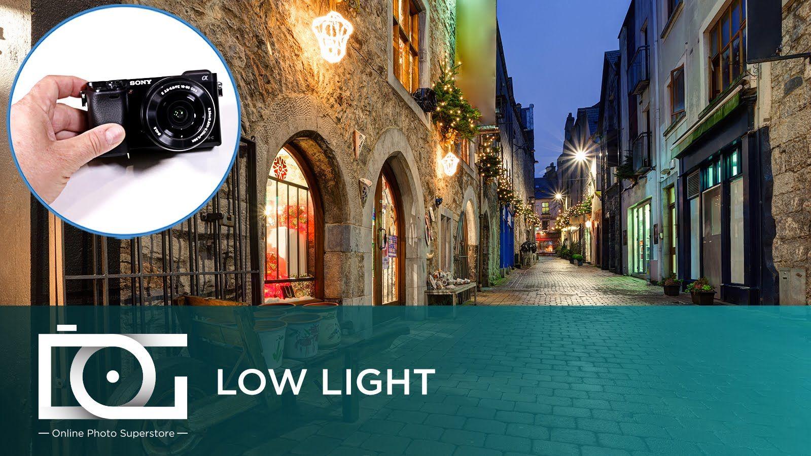 SONY Alpha a6000 Mirrorless Camera | Low Light Settings