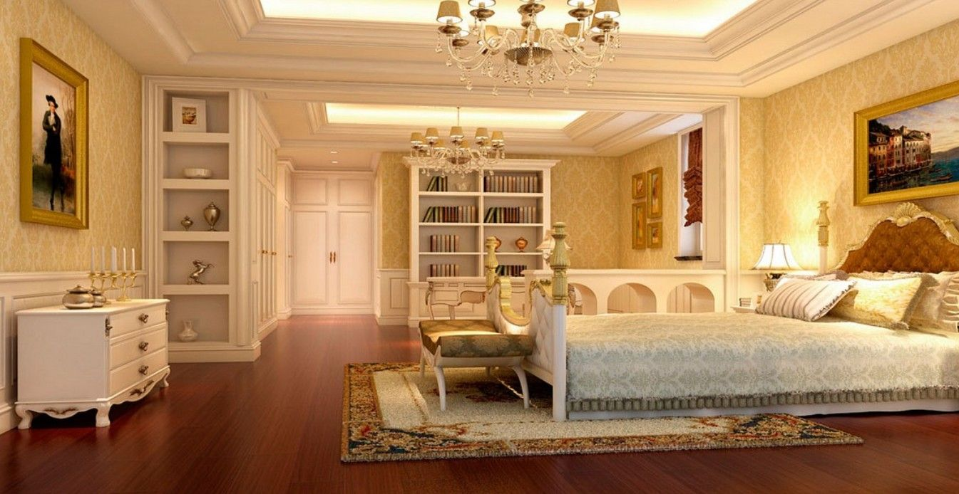Luxurious Bedroom Design Cool Luxary Bedroom  European Luxury Bedroom With Reading Area Inspiration Design
