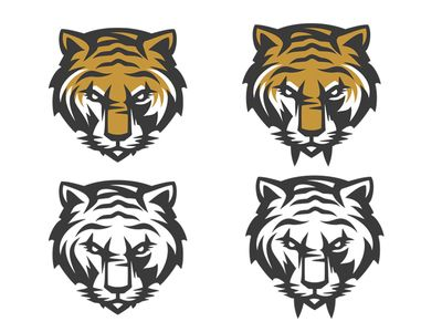 Saber Tooth Tiger Graphic Design Logo Sports Logo Inspiration Animal Logo