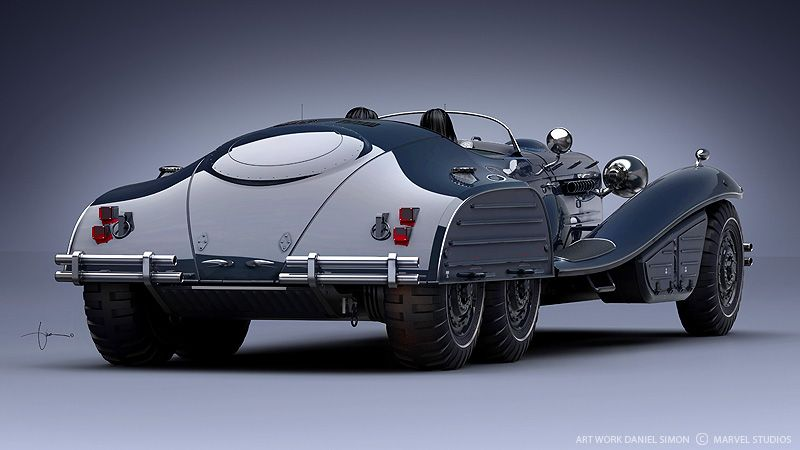 40s inspired Schmidt Coupe for Captain America