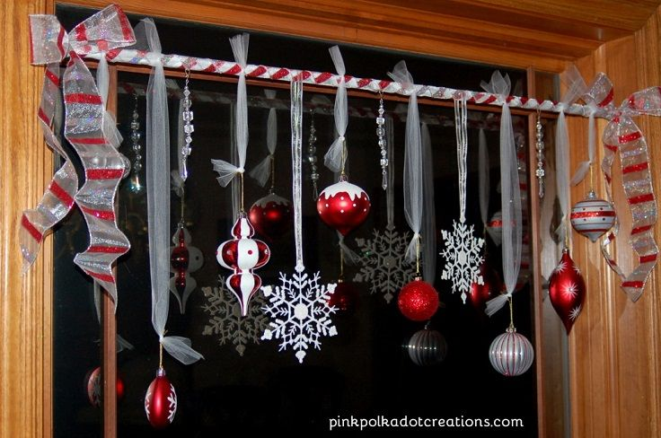 christmas window decorations | diy christmas window decoration 011 - Top 10 Best Window Decoration Ideas For Christmas Christmas