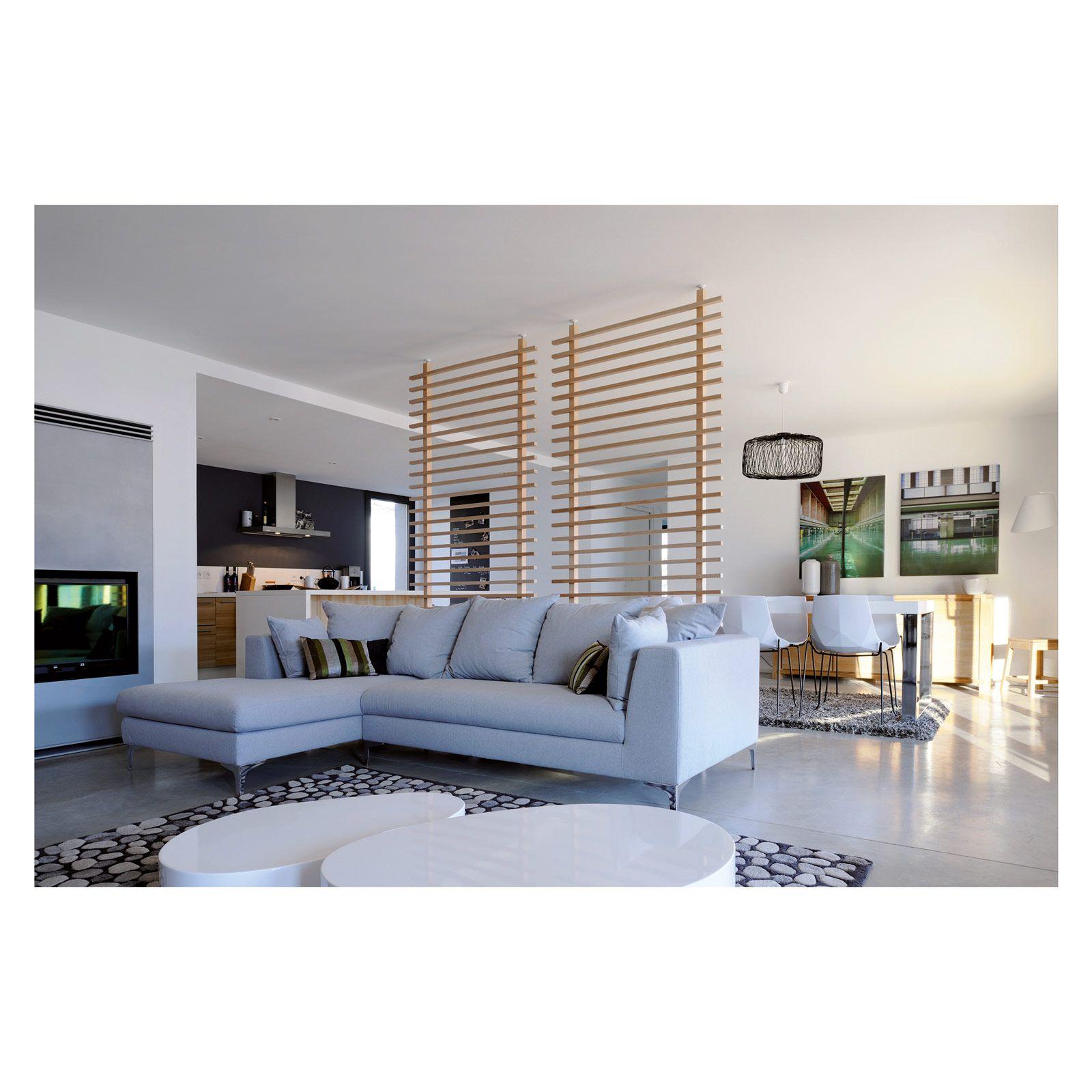 parete divisoria di leroy merlin in legno, per uso interno. È