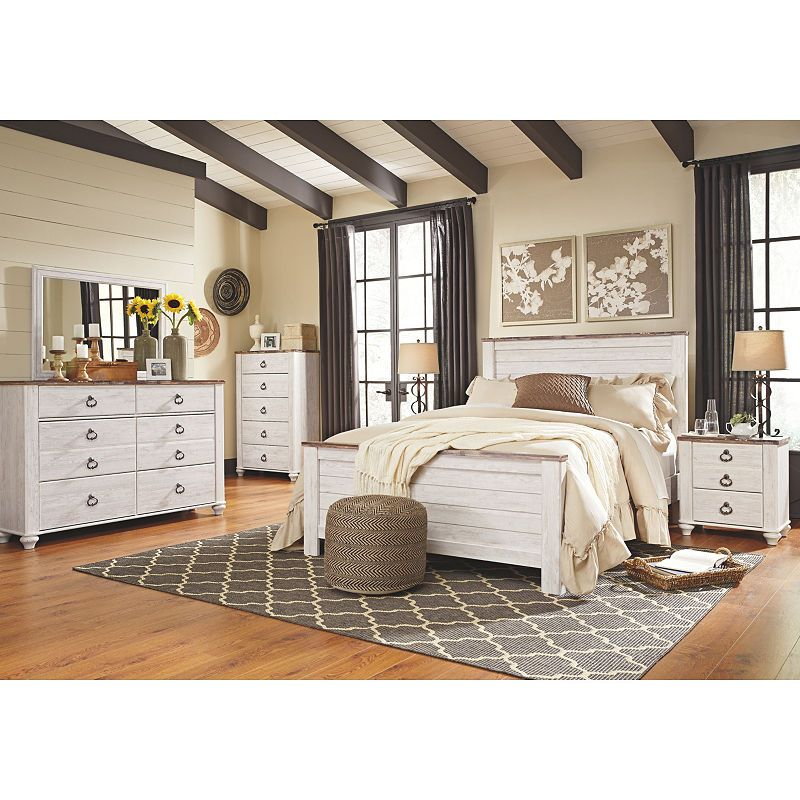 Signature Design by Ashley Smithfield 4-Pc Bedroom Set ...