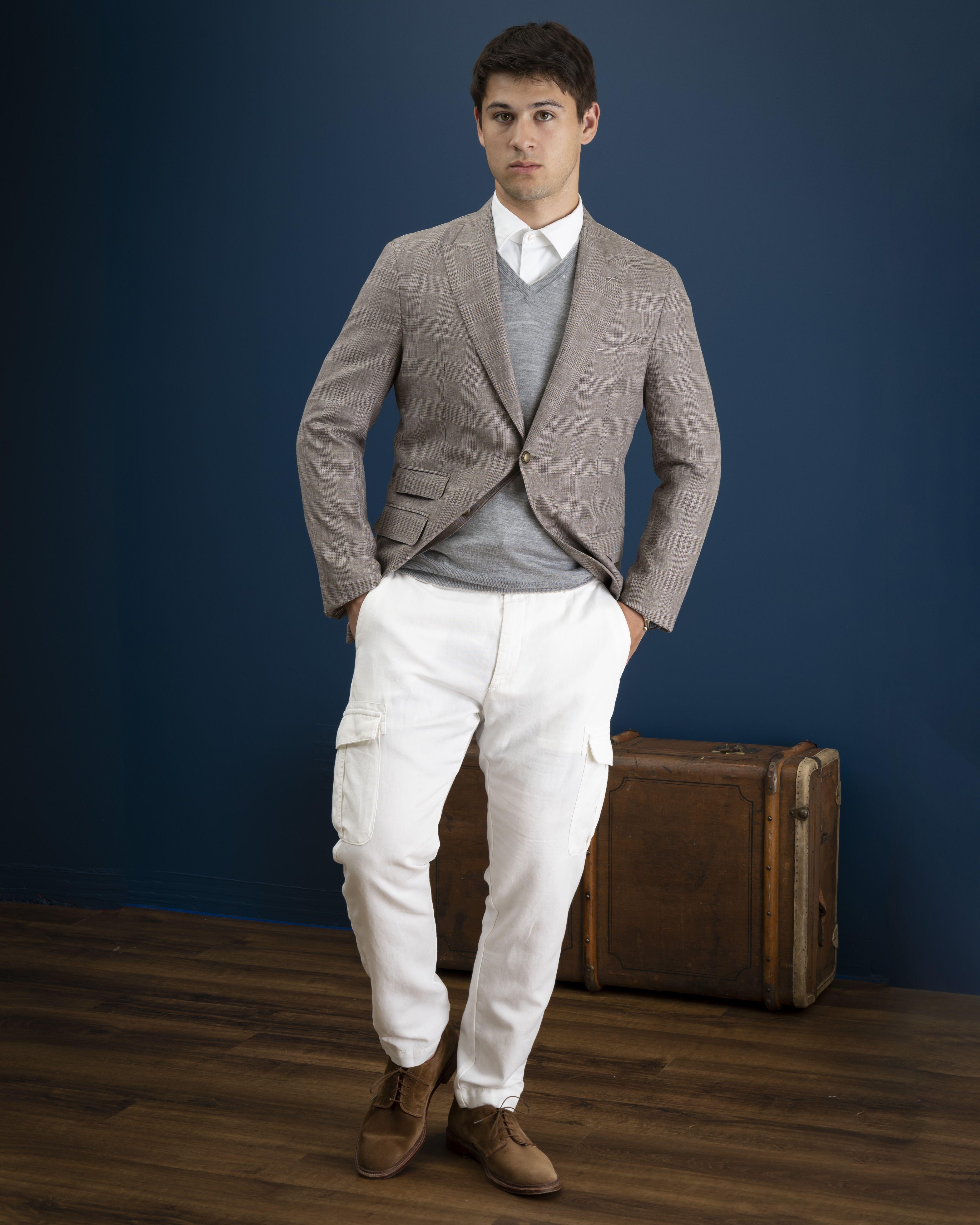 Eleventy Of Italy Khakis Of Carmel Mens Clothing Store Mens Outfits Leather Jacket Shopping