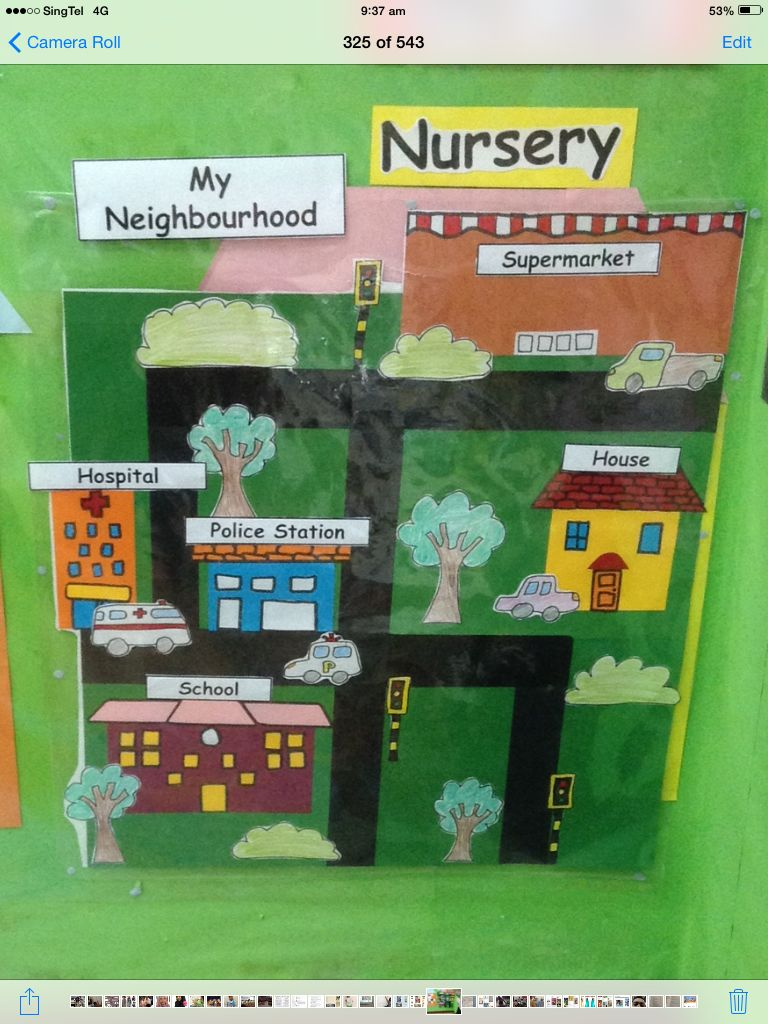 my neighbourhood theme board theme board preschool preschool activities kindergarten prep. Black Bedroom Furniture Sets. Home Design Ideas