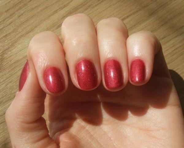 Gelevyj Lak Ezflow Trugel Tuscan Red Nails Red Gel