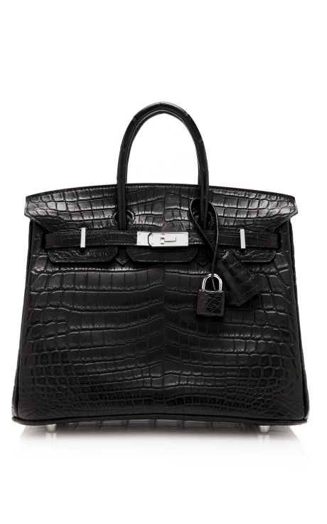 7a3fb0862fe Hermes 25Cm Black Matte Nilo Crocodile Birkin by Heritage Auctions Special  Collections - Moda Operandi