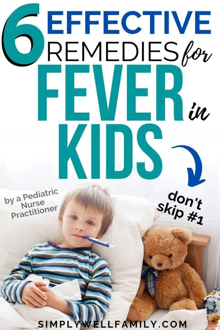 how to treat toddler fever