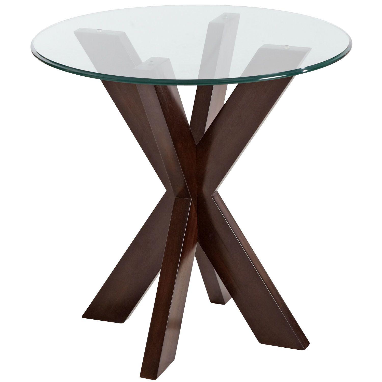 Simon Espresso X End Table Base