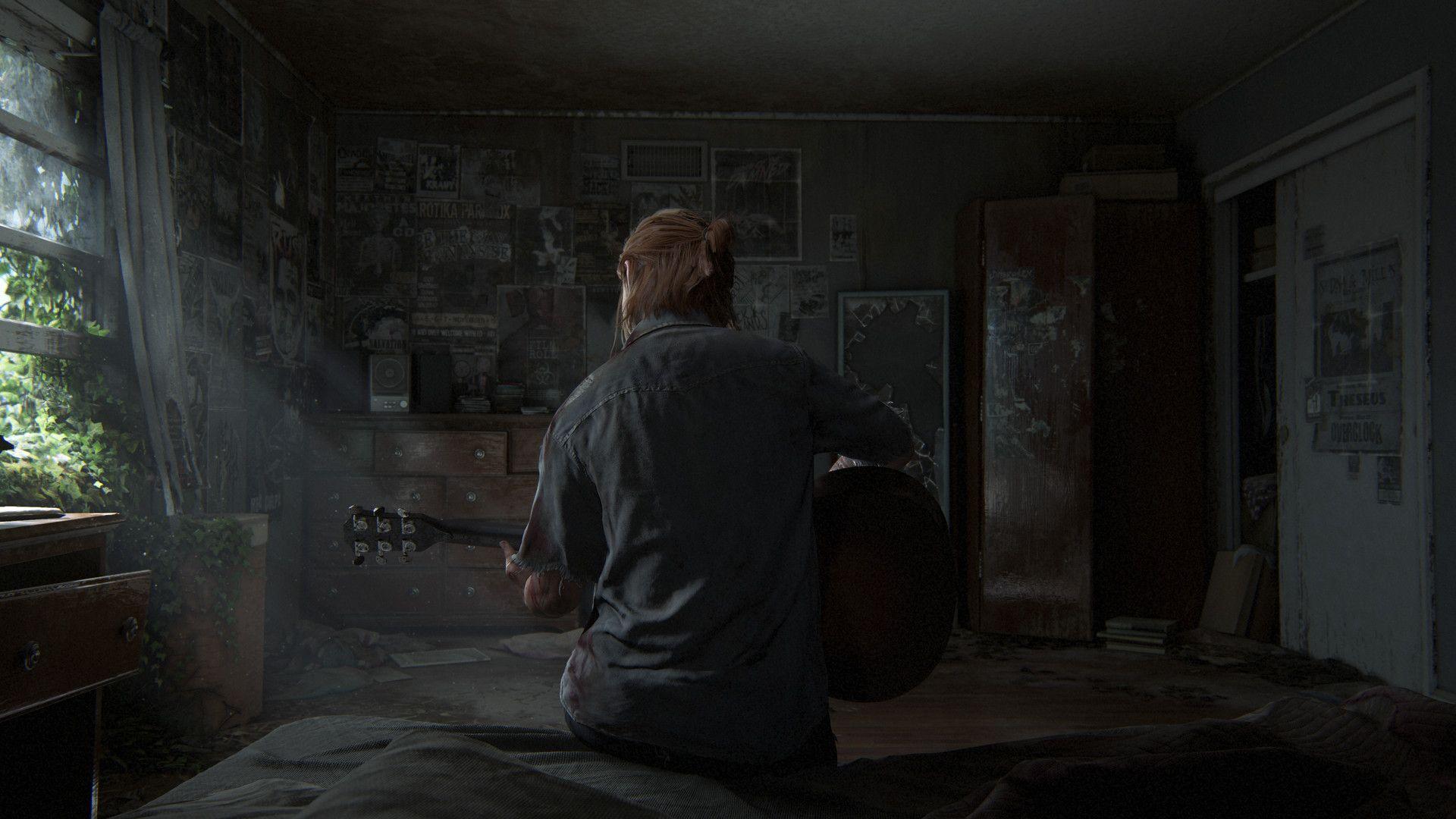 Artstation The Last Of Us Part Ii Leandro Amaral The Last Of Us The Last Of Us2 Live Wallpapers