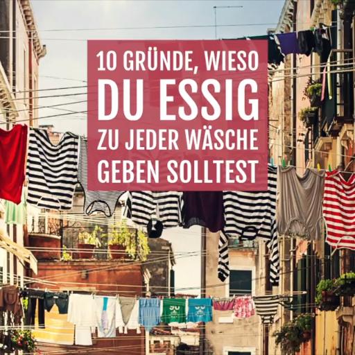 I I Zarenkriege Die Besten Tipps Tricks: 10 Gründe Wieso Du Mit Essig Waschen Solltest