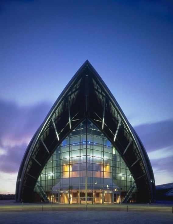 Famous Architects Norman Foster Secc Conference Centre Glasgow