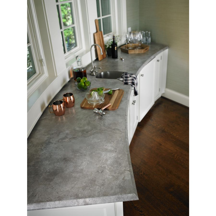 Laminate Sheets For Kitchen Countertops: Shop Formica Brand Laminate 60-in X 144-in Weathered
