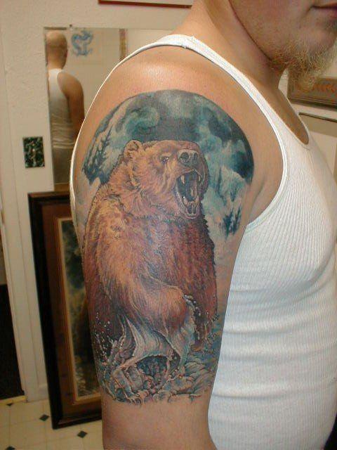 Bear Tattoo Bear Tattoo Designs Bear Paw Tattoos Bear Tattoos