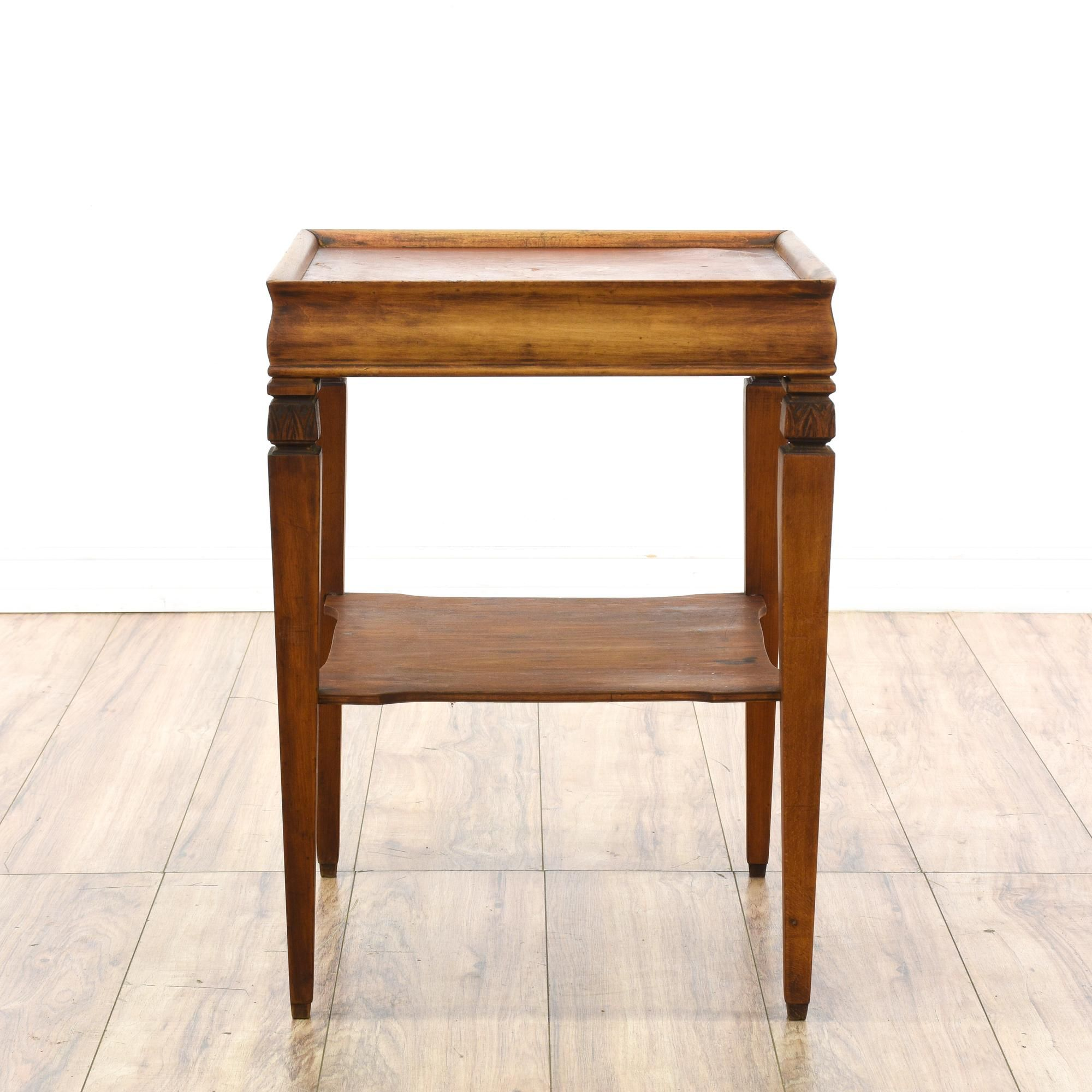 Furniture Legs San Diego traditional tiered end table | solid wood, furniture san diego and