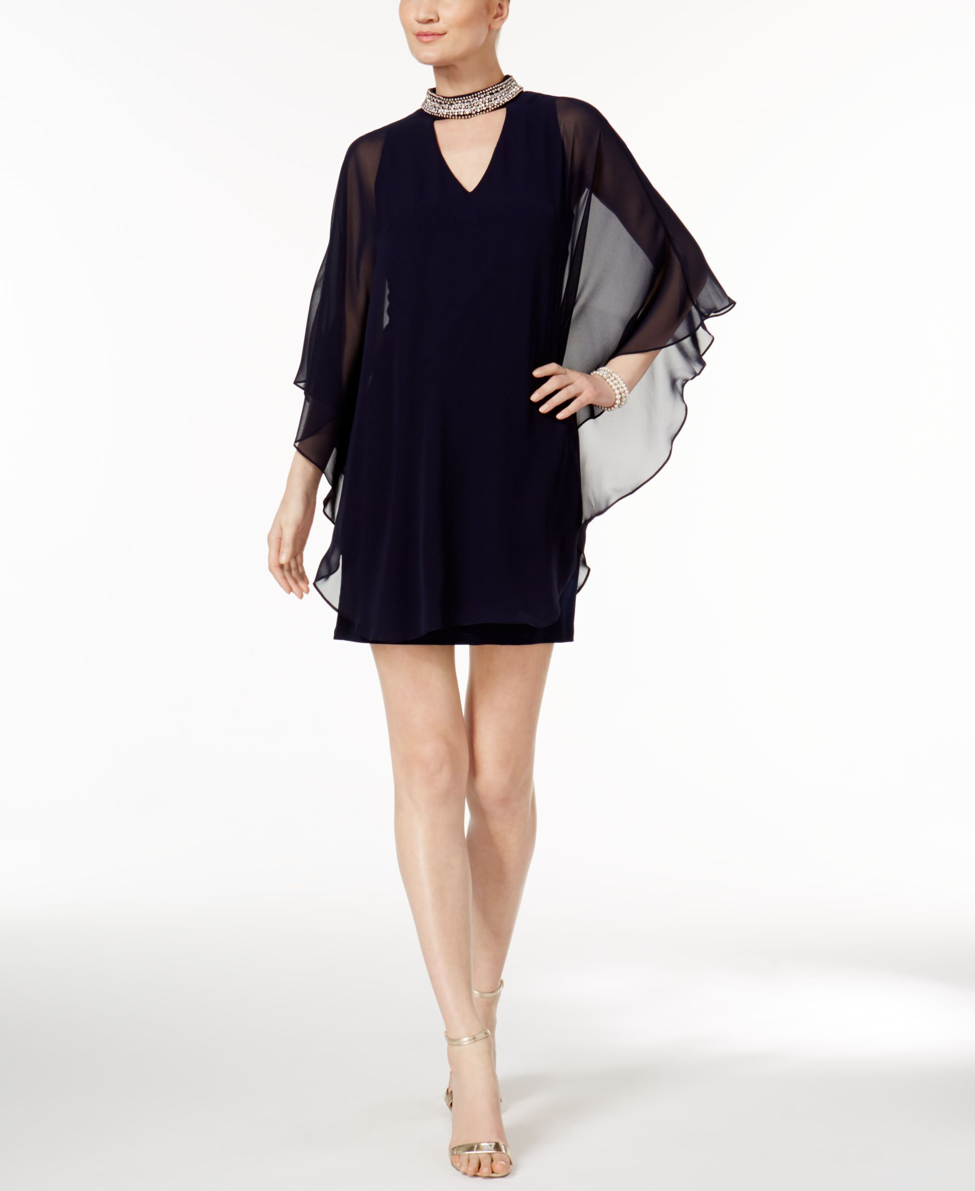 Xscape capelet sheath dress products pinterest products