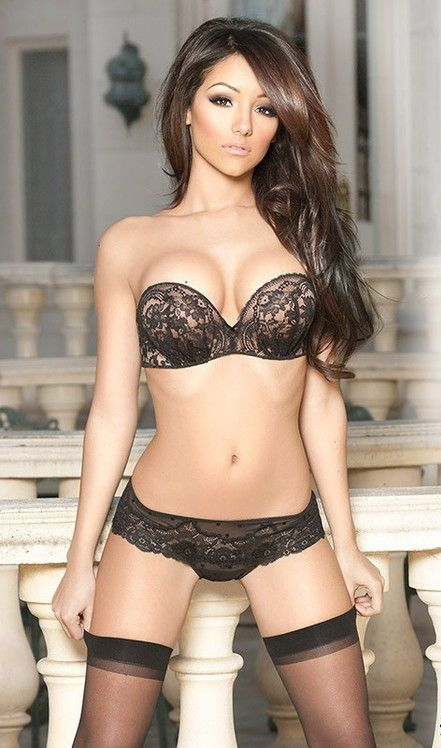 2a3b7a55637 Hair, the exact bang i like... lingerie isn't bad, either | makeup ...