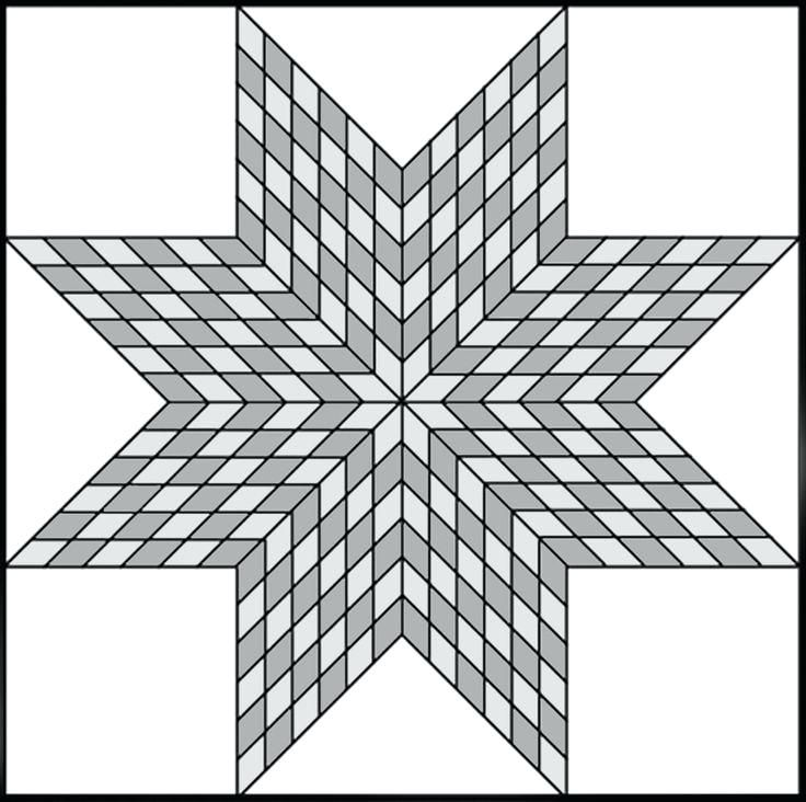 Quilt Coloring Pages Residing Your Scrappy Lone Star Tutorial From