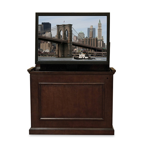 touchstone elevate endofbed tv lift cabinet cabinet that hides tv