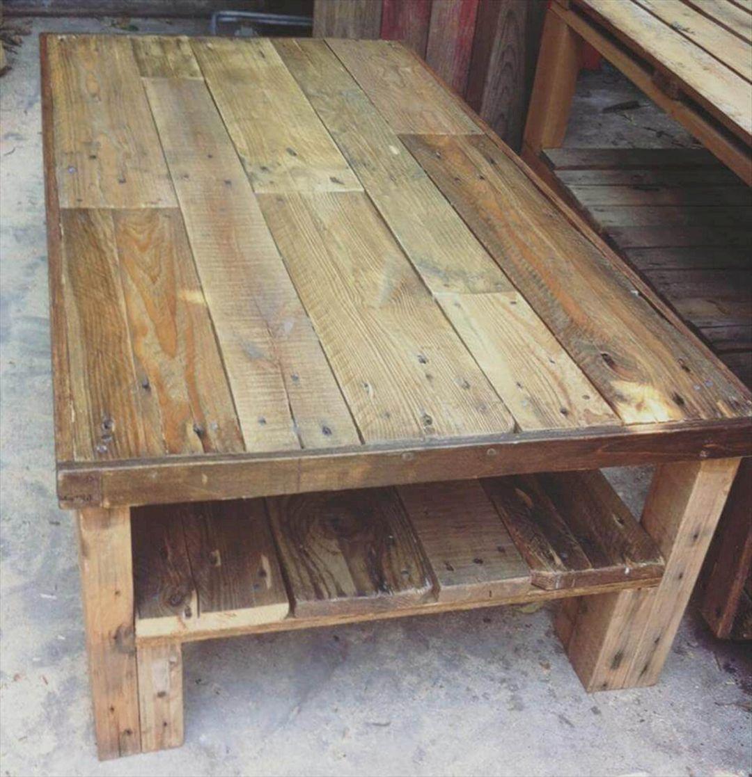 Best 10 Most Easier Diy Project Pallet Wood Coffee Table Design Freshouz Com Wooden Pallet Coffee Table Wood Table Diy Wood Coffee Table Design