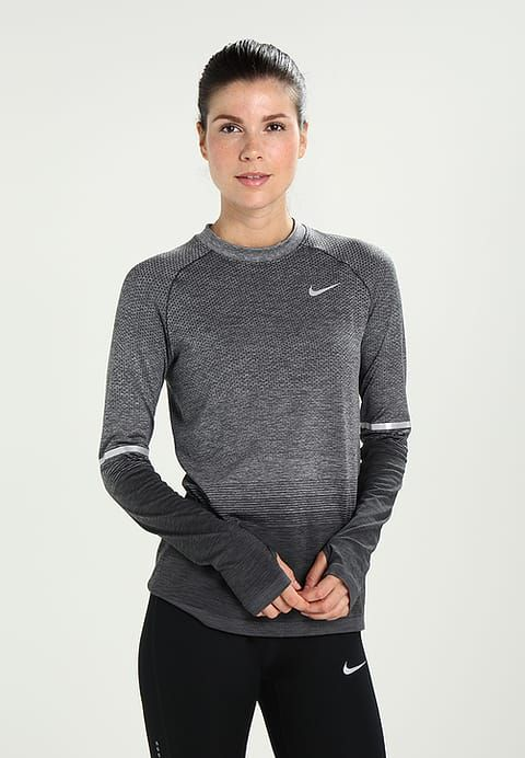 Nike Performance Dri-FIT - Sportshirt - anthracite/wolf grey ...