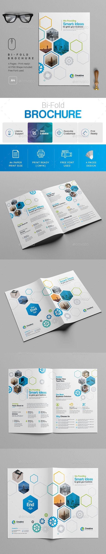bi fold brochure template brochures print templates brochure