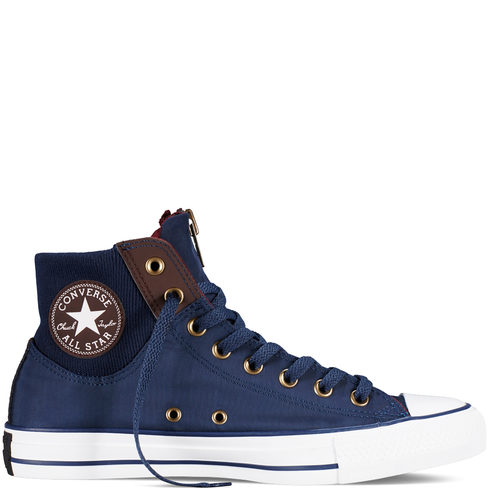 0465654874bde0 Chuck Taylor All Star MA-1 Zip Nighttime Navy Burnt Umber White - Sneakers  - Women