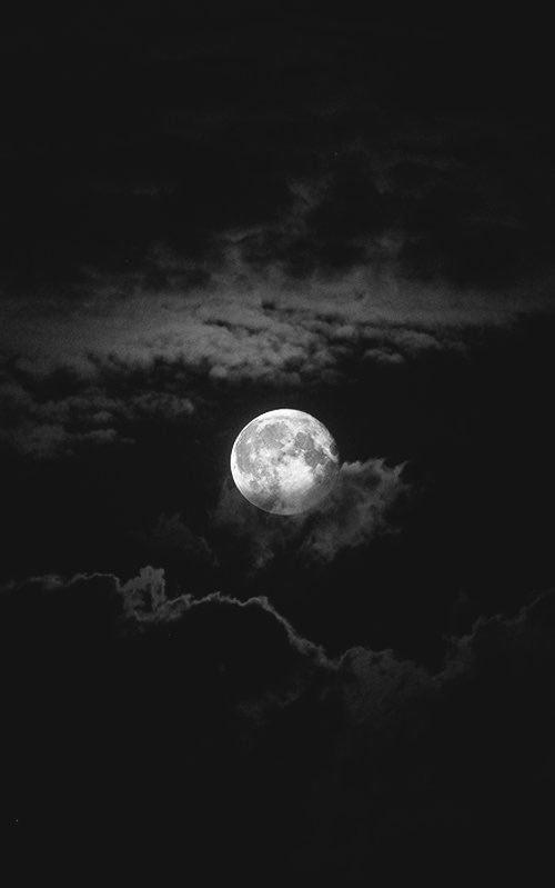 Moon Tumblr Black Aesthetic Wallpaper Dark Wallpaper Iphone Black Aesthetic