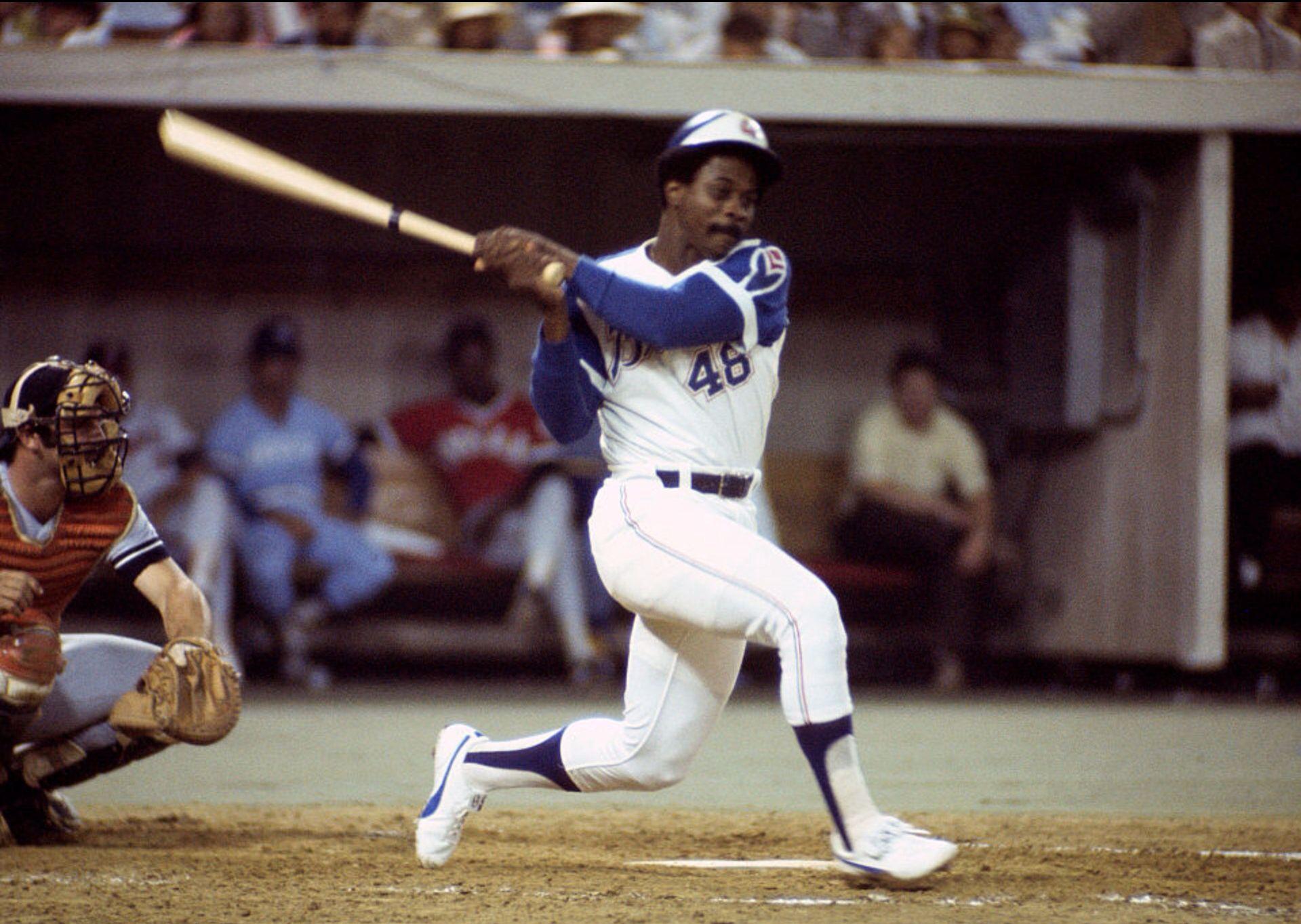 Ralph Garr Atlanta Braves 1974 All Star Game Atlanta Braves Braves Braves Baseball