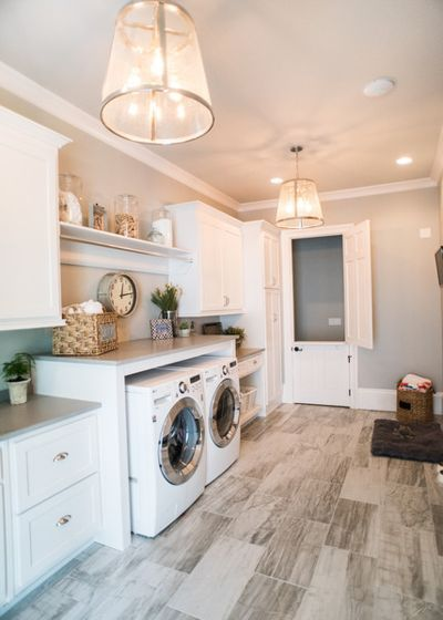 Farmhouse Laundry Room Laundryroom Ad Laundry Room Flooring