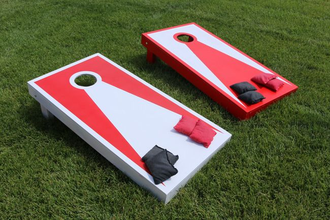 DIY Non Painted Cornhole Boards Starter Kit Made in America!