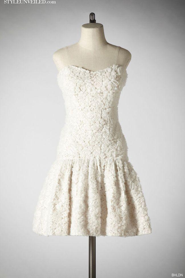 Short White Wedding Dresses byBHLDN
