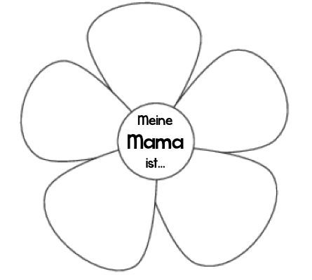 KLASSENKUNST: Vorlage: Karte zum Muttertag | Paper boxes | Pinterest ...