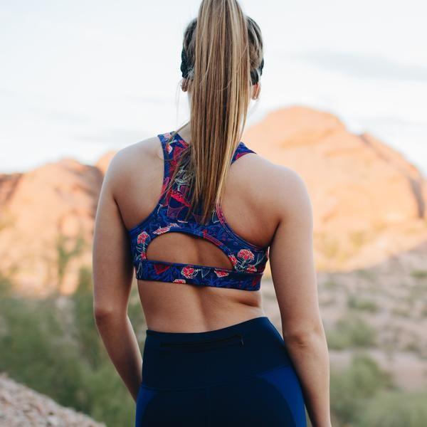 d24dec6dfe2d7 Sarah Sports Bra - Hibiscus – Senita Athletics