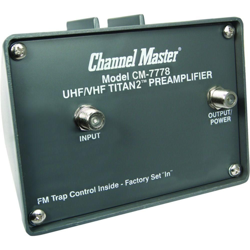 Channel Master Titan 2-Antenna Booster in 2019 | Homique