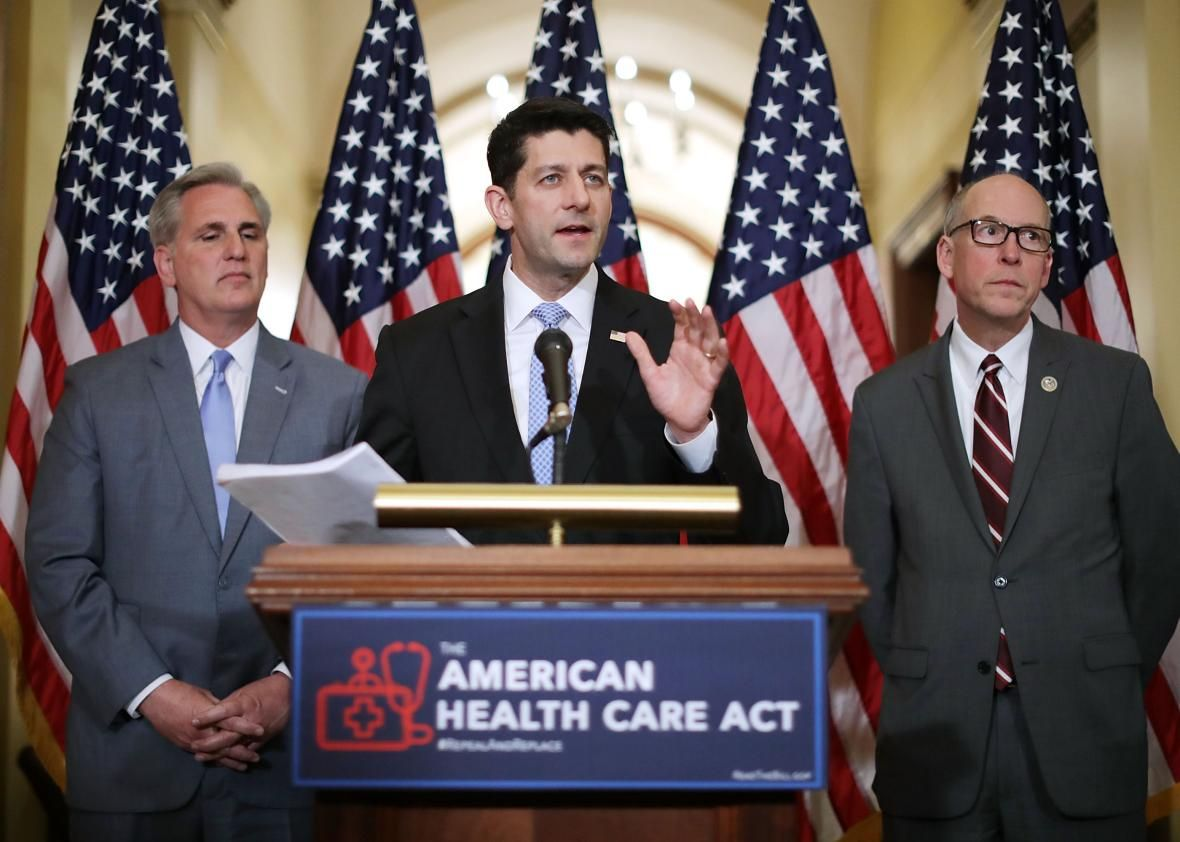 The AHCA Would Force New Moms on Medicaid to Find Work 60 Days After Labor The party that wants to ban abortion now seeks to make poor mothers spend the first few weeks of their infants' lives looking for work.