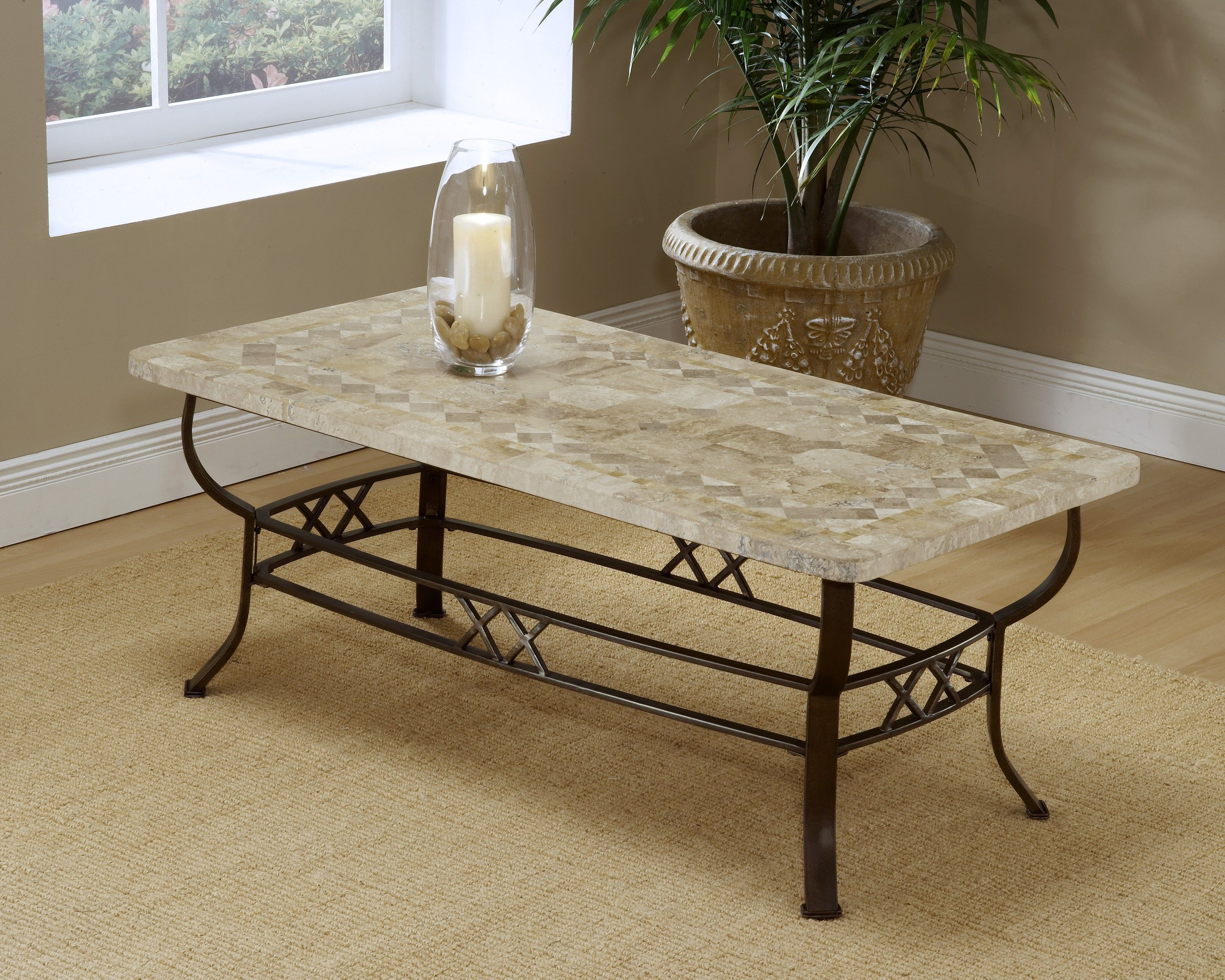 Hillsdale brookside brown fossil coffee table reviews