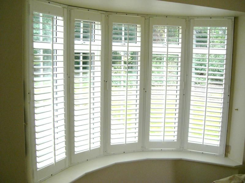 blinds bay windows ideas