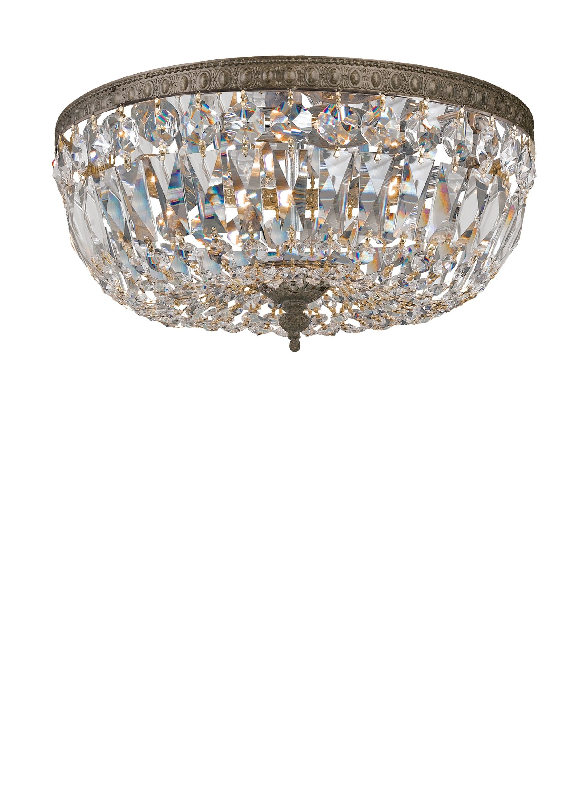 Swarovski Chandeliers By Gold Coast Lighting Crystal Basket