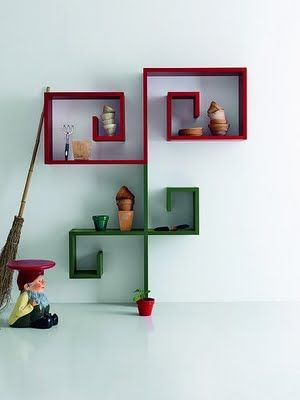 formas originales de colocar baldas de pared original ways to locate shelves on the wall